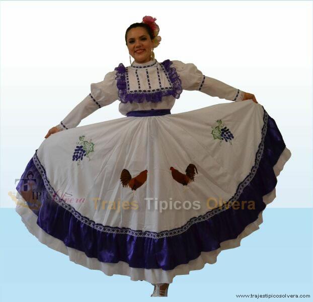 Catálogo de trajes tipicos de México